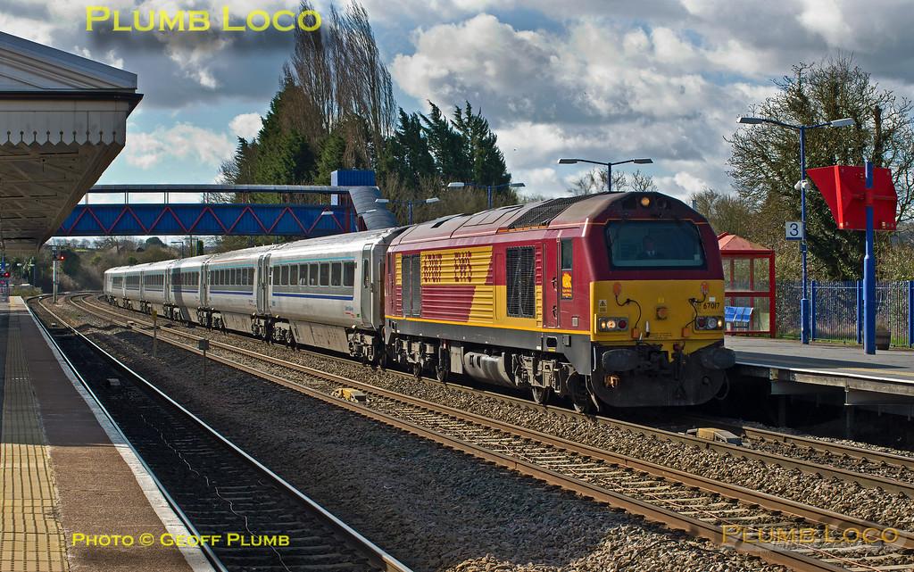 """67017 """"Arrow"""", Princes Risborough, 1R22, 31st March 2015"""