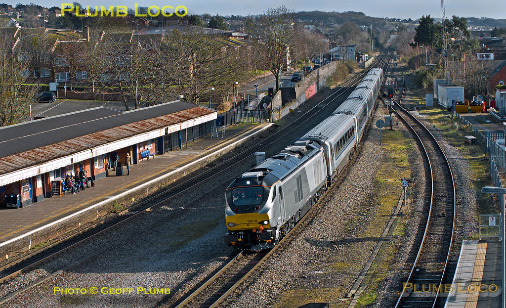 68013, High Wycombe, 5N68, 24th January 2015