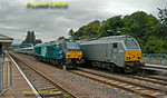 "68002 ""Intrepid"" & 67014 ""Thomas Telford"", Princes Risborough, 5th August 2014"
