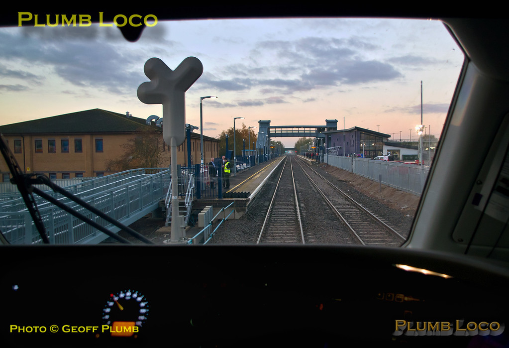 PoV 68014, Bicester Village Station, 5T12, 26th October 2015
