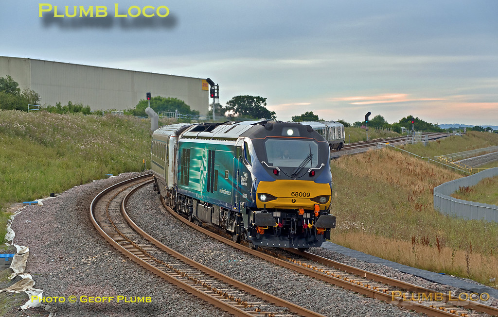 68009, Bicester Chord, 5T03, 1st August 2016