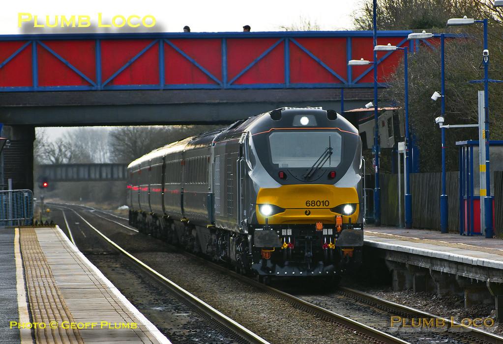 68010, Haddenham & Thame Parkway, 5J68, 27th January 2015