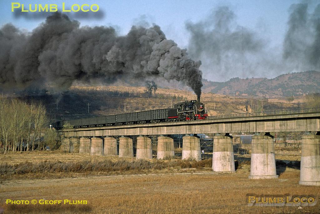 SY0872, Luan River Bridge, Chengde Steel Line, 4th November 2002