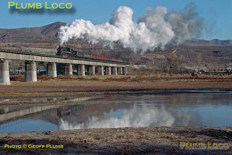 SY1753, Chengde Steel Line, Luan River Bridge, 4th November 2002