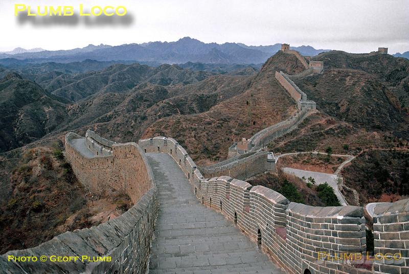 Great Wall of China near Jinshan, 3rd November 2002