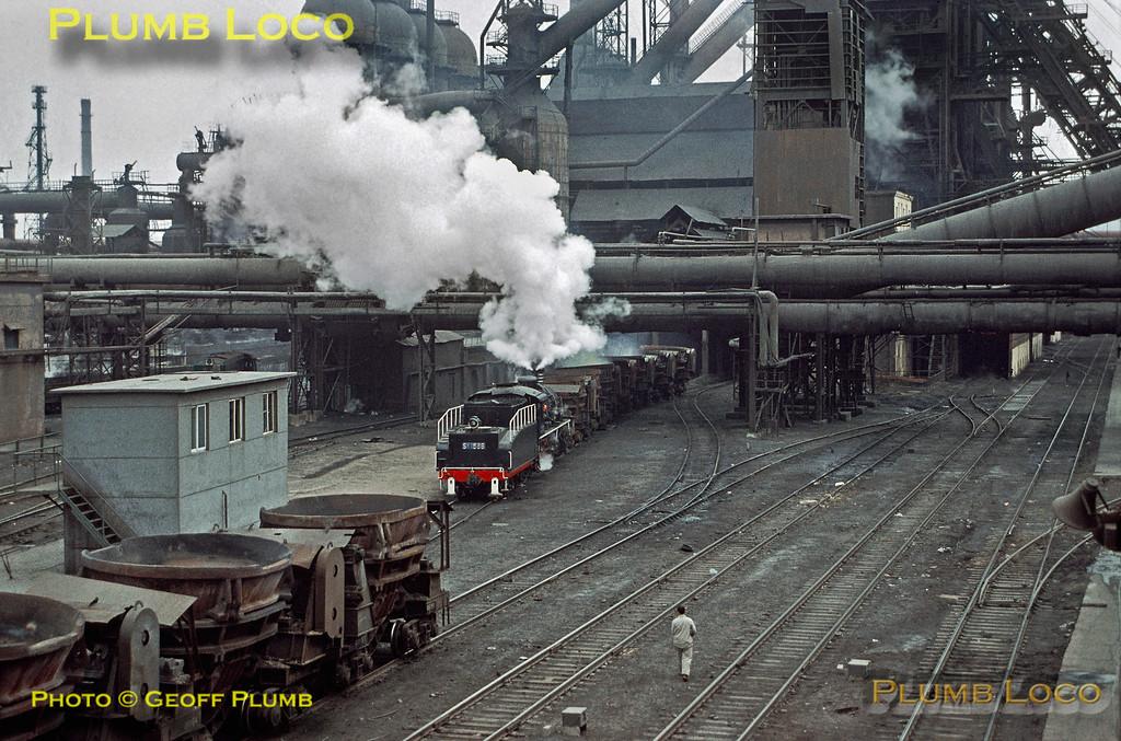 SY1568, Anshan Steel, 5th November 2002