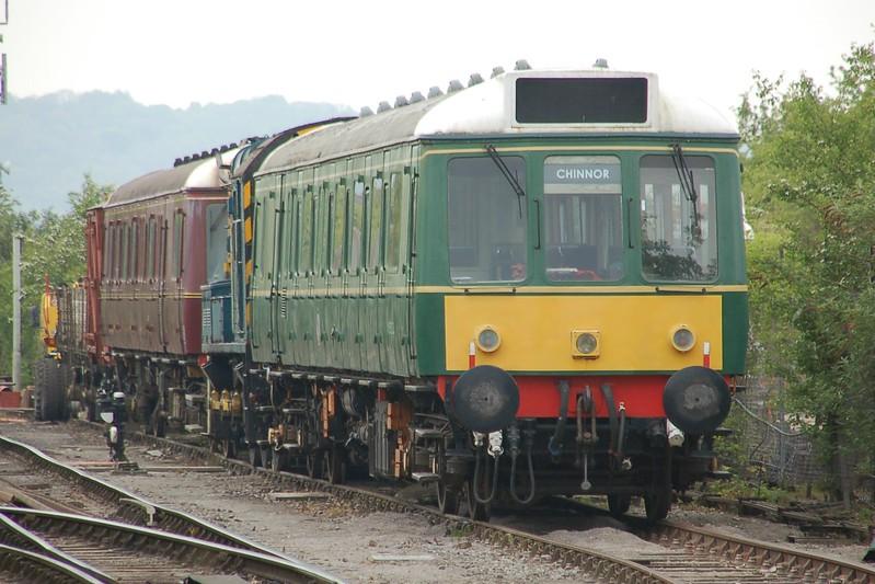 W55023, 08825 & 960010 - Chinnor & Princes Risborough Railway - 11 May 2017