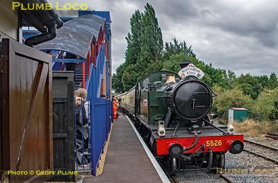 5526, Princes Risborough Platform 4, 15th August 2018