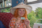Lady McAlpine with Ticket No. 0001, C&PRR, 15th August 2018