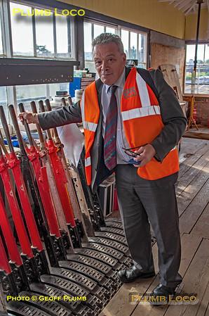 Ian Prosser, Princes Risborough North Signal Box, 15th August 2018