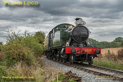 5526, Horsenden Lane Crossing, 15th August 2018