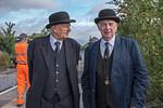 John Webb plus Alan Vigar, Princes Risborough Platform 4, 15th August 2018