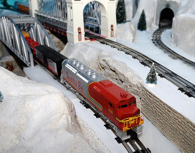 trains cheistmas