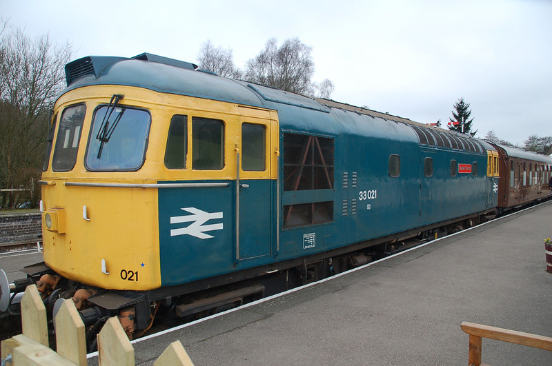 33021 Captain Charles - Churnet Valley Rly - 26 February 2012