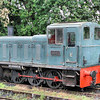 03022, carrying 2022, stabled on the Swindon & Cricklade Railway