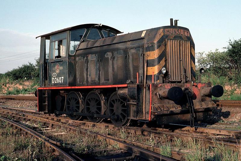 D2607 Steetley Colliery 20th Aug 1980