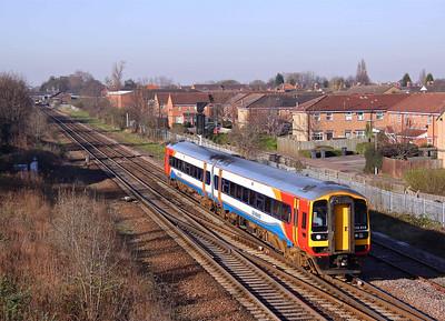 158813 passes Beeston, Nottingham on 08/04/10.
