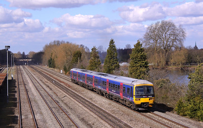 166202 HINKSEY 2P54 Oxford-Paddington