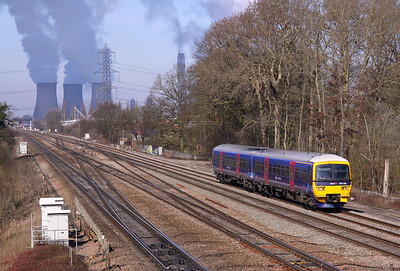 165132 DIDCOT EAST 2P40 09.36 Oxford-Paddington