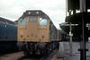 25052/25223 Exeter St Davids on 'MTK' Railtour 9th Oct 1977