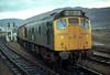 25046/27002 Fort William on 'Skye Train' Railtour 1st April 1978