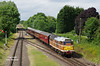 Class 31 D5830 (31297 / 463 / 563) leads the 2C37 15:15 Loughborough - Rothley as the working approaches Quorn & Woodhouse at 15:23 on Friday 16th June 2017 on the first afternoon of the Great Central Railway Modelling Weekend - Class 20 D8098 (20098) brings up the rear.<br /> The GCR Modelling Weekend has become a regular entry on my railway calendar over the last few years - the main marquee is set up at Quorn & Woodhouse and hosts a huge number of model railway layouts and traders - these are then further supplemented by displays, layouts and stands at the other stations up and down the line. The ticket price of  £20 includes all of this plus unlimited travel of the intensive shuttle service over the line for the duration - an excellent day out indeed!