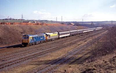 33116 & 33051 WOODHOUSE EAST SIDINGS