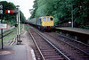 33007 arrives Uckfield to work 1910 to East Croydon 1st July 1982