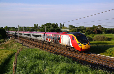 390156 RED BANK 1M17 16.40 Glasgow Central-Euston