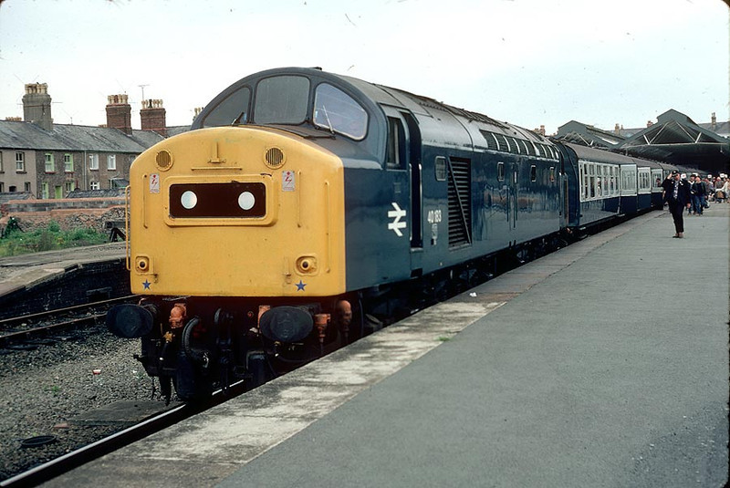 40183 Llandudno on 0900 to York 9th August 1980