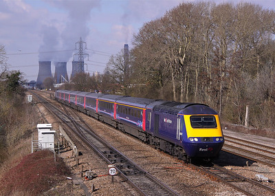 43063+43160 DIDCOT EAST 1L46 09.55 Cardiff Central-Paddington