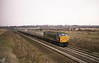 45012 passes Hessle with the Knottingley Man-o war Railtour on 9th February 1985.