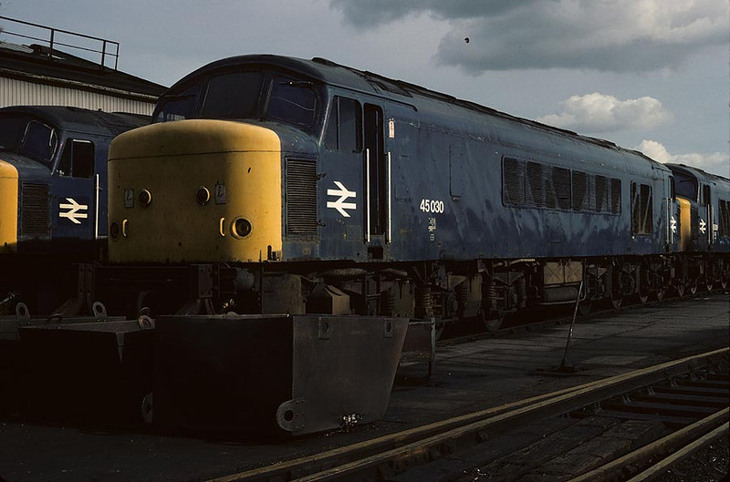 45030 Derby Works 4th Oct 1980