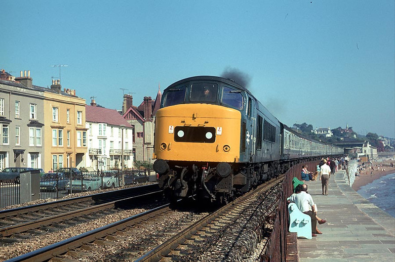 45016 Dawlish on Derby-Paignton 23rd Sep 1978