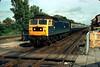 47012 Prestatyn on 1240 Manchester-Llandudno 6th Sep 1980