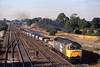 47358 navigates Milford Junction at 17:45 on Wednesday August 8th 1995 with the 4V03 14:06 Lynmouth - Pengham aluminium ingots.