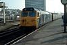 50001 Plymouth on 1609 Penzance-Paddington 10th May 1980