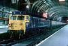 50001 arrived Paddington on 1609 ex Penzance 10th May 1980
