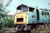 D1003 Swindon Works 18th Aug 1976