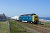 On Wednesday 27th April 2011, a drive to the North East was in order to capture the incredible phenomenon of 55022 'Royal Scots Grey' working the Lynemouth - North Blyth and vice-versa trips. Arriving at North Blyth with the 4N32 15:03 empties from Lynemouth, I think you'll agree she looks fantastic - Who would have thought we'd ever see a preserved deltic on revenue earning freight.