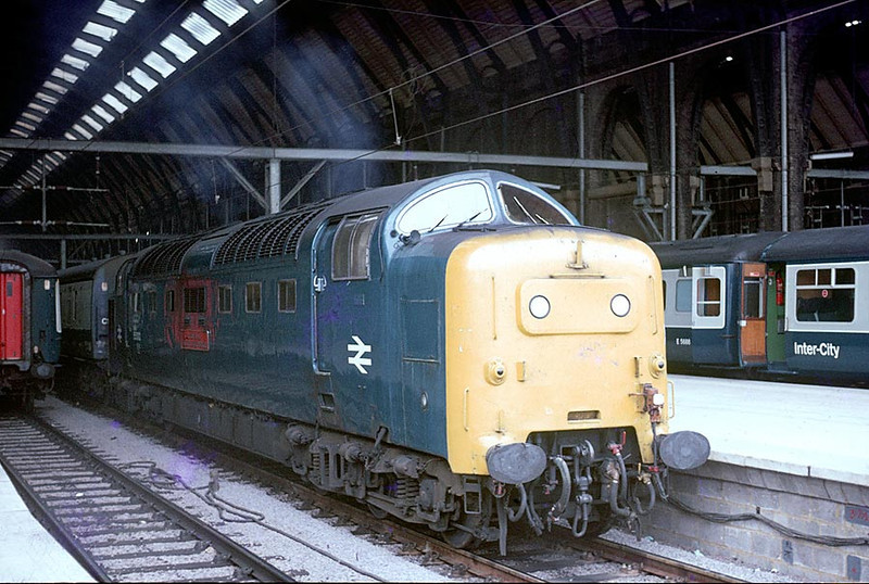 55002 Kings Cross on 1600 to Edinburgh 26th June 1977