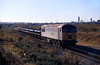 56091 approaches Dragonby exchange sidings with a steel trip from Scunthorpe at 09:37 on 28th October 1997.