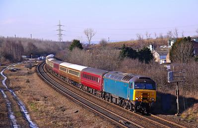 57316 KILNHURST 1Z76 Leicester-Carlisle