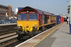 66008 Eastleigh 8th Sep 2014
