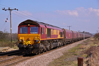 66007 RUSHEY SIDINGS CROSSING
