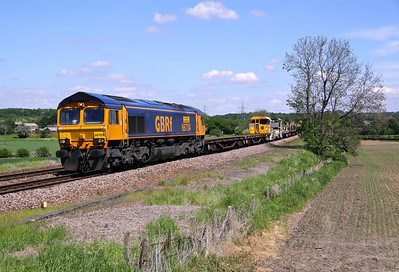 66704 SLITTING MILL 6M73 10.52 Doncaster Up Decoy-Toton Nth Yard