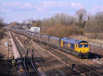 66711 MILFORD 6B64 Tyne Dock-West Burton