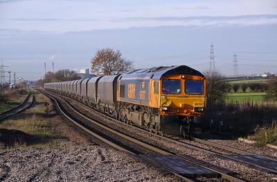 66707 WHITLEY BRIDGE 6C10 09.45 Immingham HIT-Eggborough