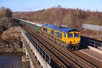 66714 BEIGHTON 6M19 11.10 Rylstone-Wellingborough