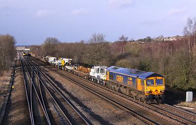 66707 TUPTON 6M73 10.52 Doncaster Up Decoy-Toton